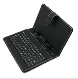 "7"" KEYBOARD WITH COVER FOR TABLETS"