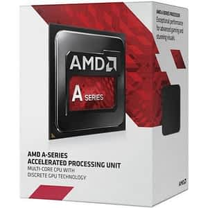 AMD A4-7300 Black Edition -  Dual (2) Core 4.0Ghz Desktop APU (Socket FM2+) - With Fan