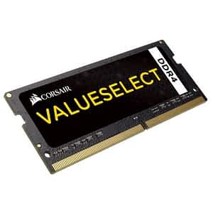 Corsair ValueSelect 16GB (1 x 16GB) 2133MHz DDR4 CL15 SODIMM 260Pin 1.2V Notebook Memory