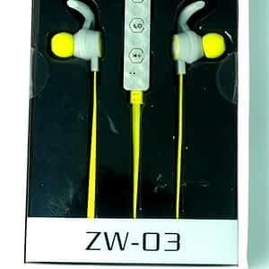 Geeko ZW-03 Wireless Earphones Yellow
