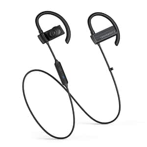 Taotronics TT-BH073 Wireless Stereo Bluetooth 5.0 IPX5 In-ear Headphones - Black