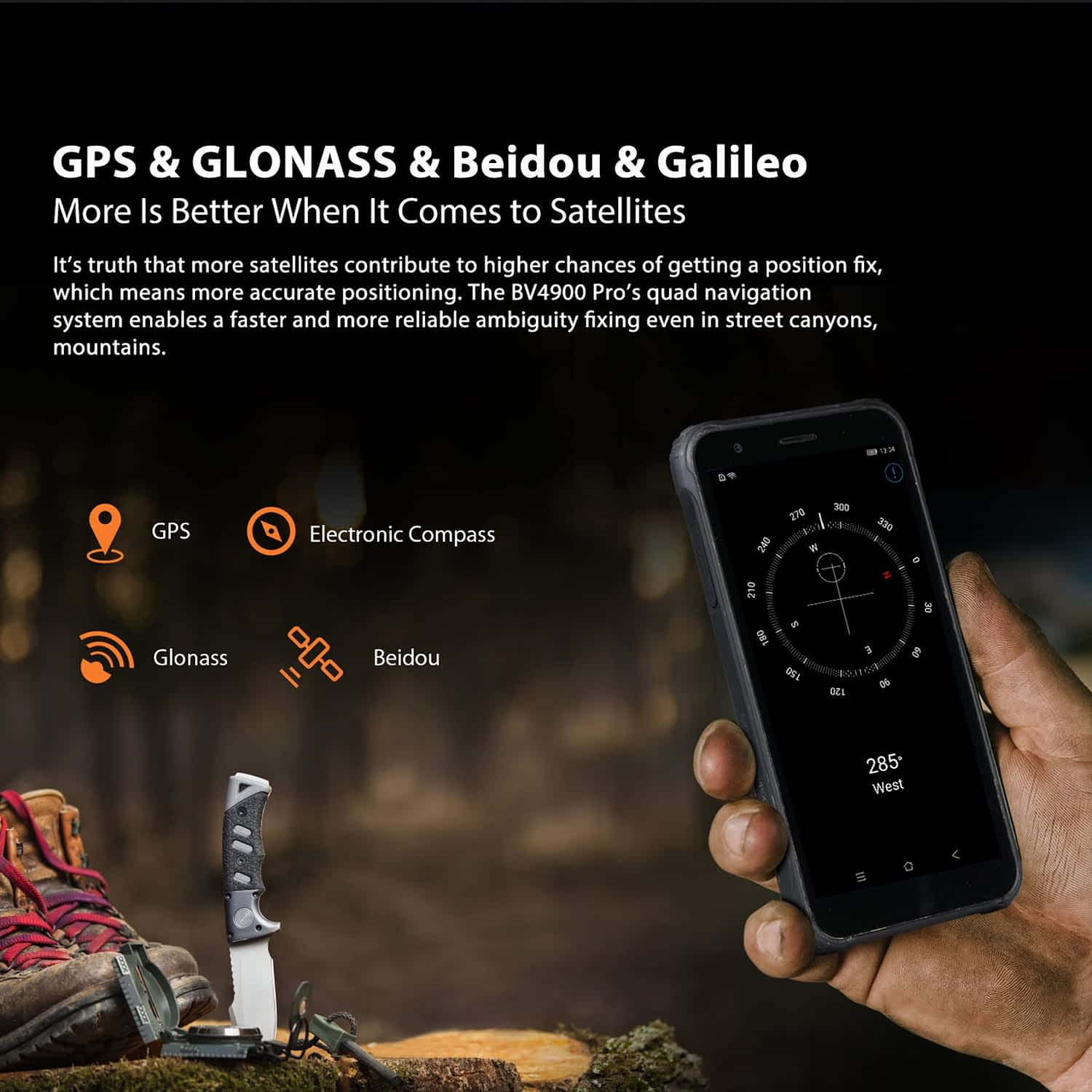 Blackview BV4900 Pro Rugged Smartphone