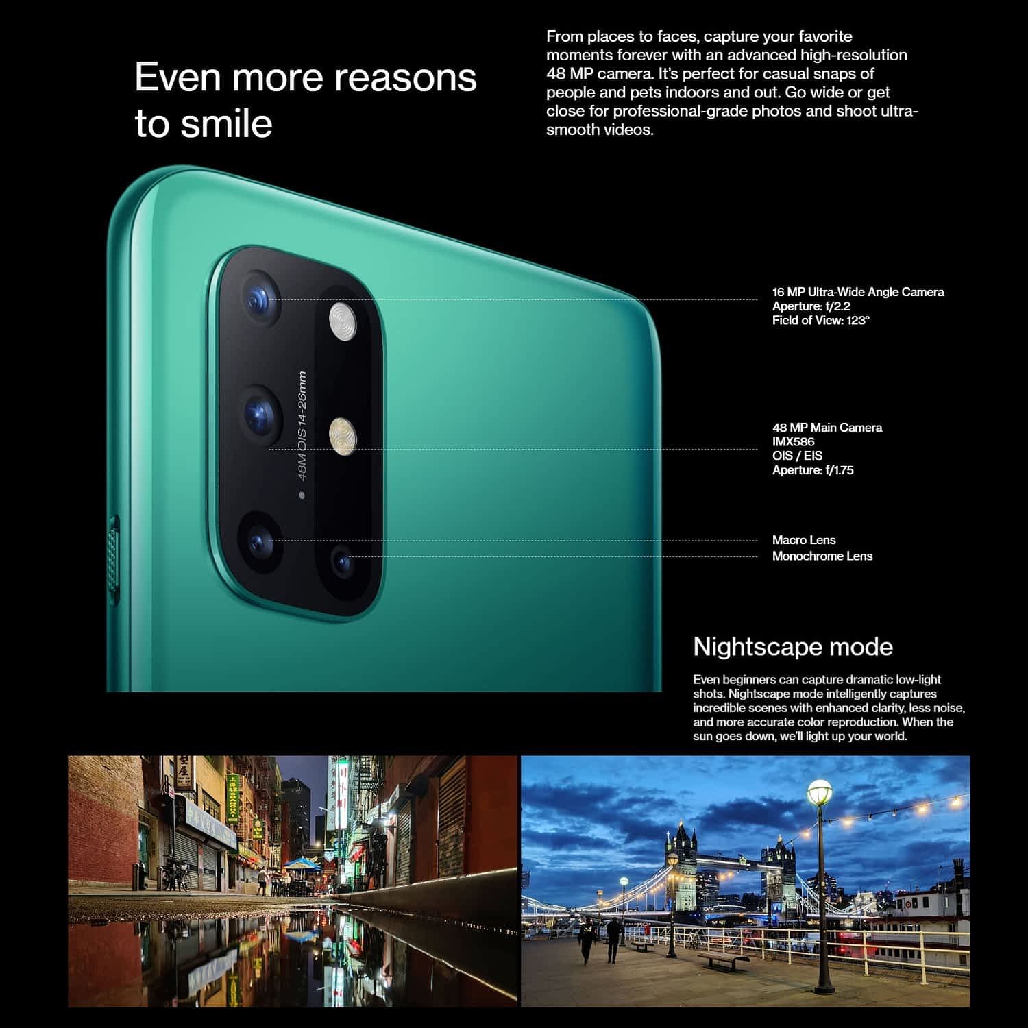 OnePlus 8T 5G Android Smartphone