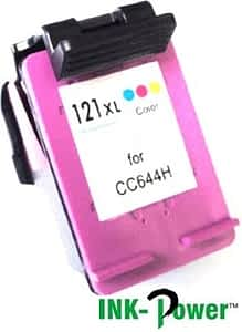 Inkpower Generic Ink Cartridge for HP 121XL Tri-Colour