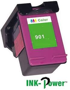 Inkpower Generic for Hp No. 901 XL Tri-colour Inkjet Print Cartridge