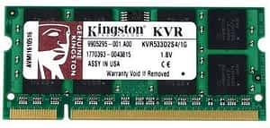 NOTEBOOK 1GB 533MHZ DDR2 MEM KINGSTON