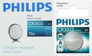 Philips Minicells Battery CR2025