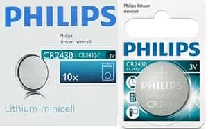 Philips Minicells Battery CR2430