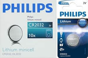 Philips Minicells Battery CR2032