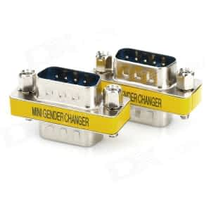 ADAPTER SERIAL 9 MALE-9 MALE