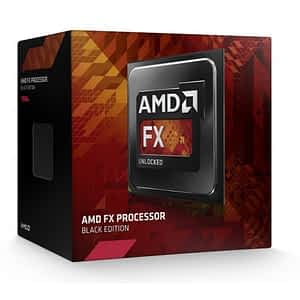 AMD FX-6300 Black Edition - Hexa (6) Core 4.1GHz Desktop CPU (Socket AM3+) - With Fan