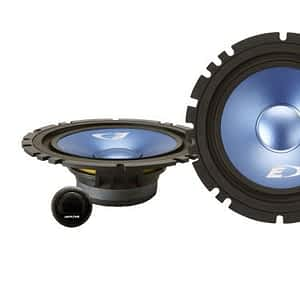 "Alpine SXE-17CS 6-1/2"" (16.5cm DIN) Component 2-Way Speaker"