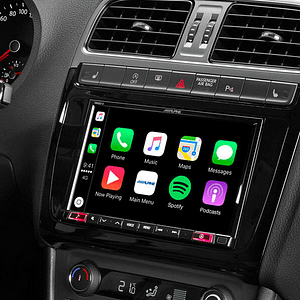 """Alpine X802D-U 8"""" Touch Screen Navigation with TomTom maps, compatible with Apple CarPlay and Android Auto"""