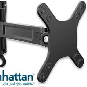 """Manhattan Universal Flat-Panel TV Articulating Wall Mount - Single arm supports one 13"""" to 27"""" television"""