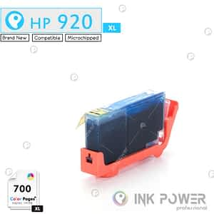 Inkpower Generic for Hp No. 920XL Cyan Inkjet Print Cartridge