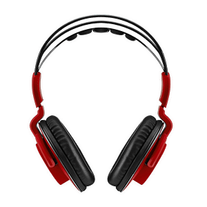 Bitfenix Flo Gaming Fire Red SofTouch Headset - PC/Mobile Devices