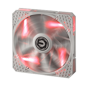 Bitfenix Spectre Pro LED All White with Red LED 140MM 1200RPM Fan