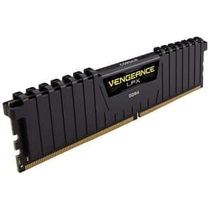 Corsair Vengeance LPX 16GB (1x16GB) DDR4-3000MHz CL16 Black Desktop Memory