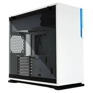 In-Win 101C White Tempered Glass ATX Mid-Tower Desktop Chassis