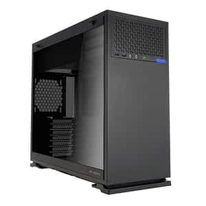 In-Win IW-102-Black 102 Tempered Glass Black Steel ATX Mid Tower Desktop Chassis