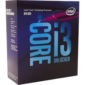 Intel Core i3-8350K 4.0GHz Quad Core 14nm Coffee Lake Socket LGA1151 Desktop CPU - Cooler Not Included