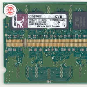 KINGSTON 256MB 667MHZ DDR2 NON-ECC NB