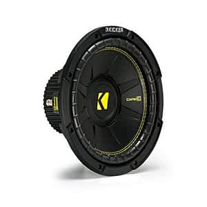 """Kicker 44CWCS104 CompC Series 10"""" 4 Ohm Subwoofer"""