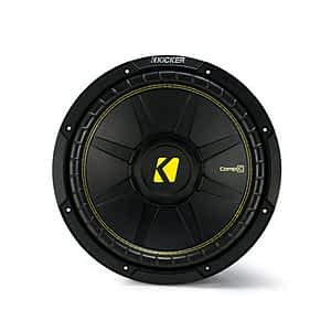 """Kicker 44CWCS124 CompC Series 12"""" 4 Ohm Subwoofer"""