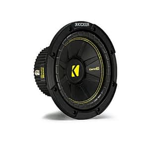 """Kicker 44CWCS84 CompC Series 8"""" 4 Ohm Subwoofer"""