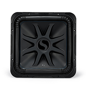 """Kicker 44L7S84 Solo-Baric L7S Series 8"""" Subwoofer with dual 4-ohm voice coils"""