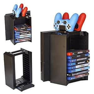 PS4 MULTI-FUNCTION DISC STAND KIT WITHOU