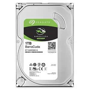 "Seagate Barracuda 1TB 7200RPM SATA 6Gb/s 64MB Cache 3.5"" Internal Hard Drive"