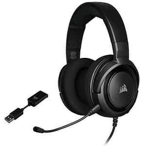 Corsair HS45 Wired Virtual 7.1 Carbon Gaming Headset