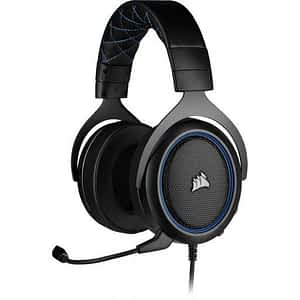Corsair HS50 PRO WIRED Stereo Blue Gaming Headset