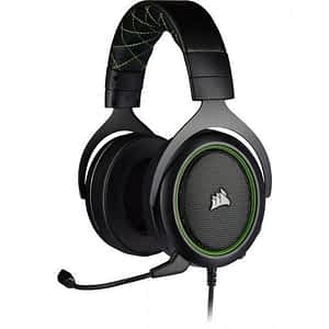 Corsair HS50 PRO WIRED Stereo Green Gaming Headset