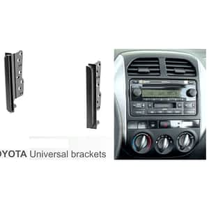 Toyotal Universal Double Din Brackets