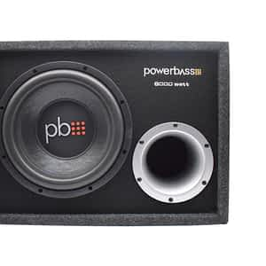 """Powerbass PSW10BX 10"""" 6000W Loaded Subwoofer Enclosure"""