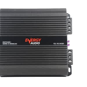 Energy Audio EXCITE4500.1 1-Channel 600WX1 RMS at 1 Ohm Superior Sound Quality Monoblock