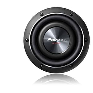"""Pioneer TS-SW2002D2 600W 8"""" Shallow-mount DVC Subwoofer"""