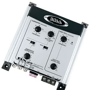 Boss Audio BX25 2-way Electronic Crossover w/Remote level subwoofer control