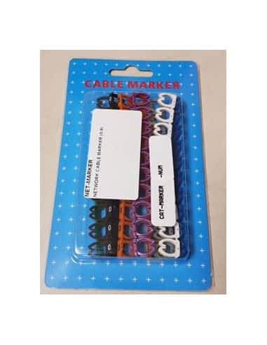 Network Cable Marker Pack Number 0-9 (10 of each)