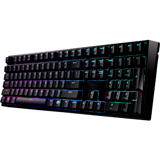Cooler Master Masterkeys Pro L RGB Cherry MX Brown Mechanical Gaming Keyboard