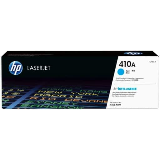 HP CF411A 410A Cyan Original LaserJet Toner Cartridge