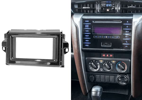Toyota Fortuner 2015+ Double Din Trmplate