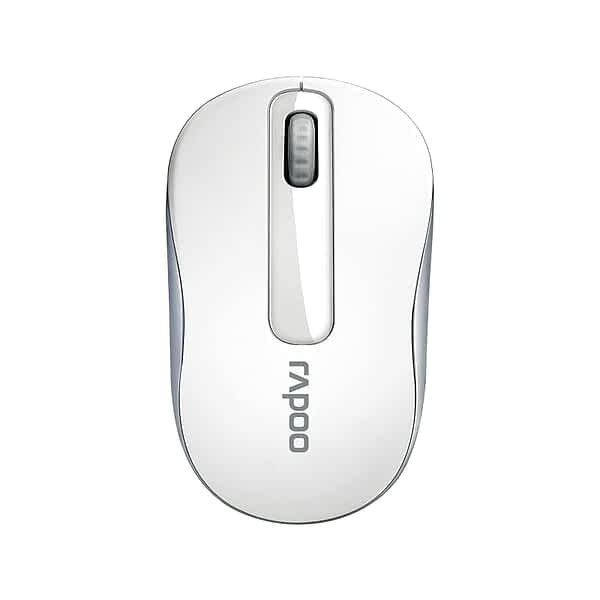 RAPOO WIRELESS MOUSE M10PLUS WHITE 2 YEAR CARRY IN WARRANTY